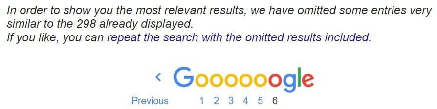 דפים דומים בתוצאות החיפוש בגוגל